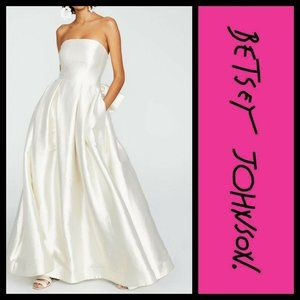 Betsey Johnson Say Yes to the Dress Gold Bow Dress